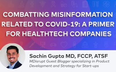 Combatting Misinformation related to COVID-19: a Primer for Healthtech Companies and Consumers