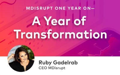 MDisrupt One Year On—A Year of Transformation