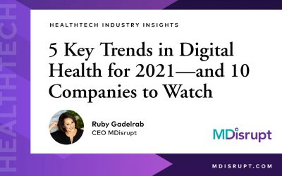 5 Key Trends in Digital Health for 2021—and 10 Companies to Watch